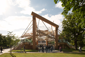 Frank O. Gehry, Serpentine Gallery Pavilion 2008, London, Chateau La Coste