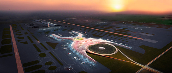 International Airport Mexico City, Foster + Partners, Norman Foster, FR-EE, Fernando Romero, NACO Netherlands Airport Consultants, Arup
