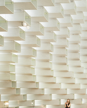 Bjarke Ingels, BIG, Serpentine Gallery Pavilion 2016, London