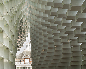 Bjarke Ingels, BIG, Serpentine Gallery Pavilion 2016, Summer House, London