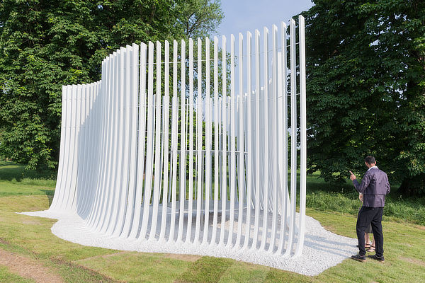 Asif Kahn, Serpentine Gallery Pavilion 2016, Summer House, London