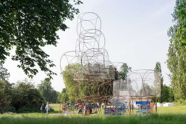 Yona Friedman, Serpentine Gallery Pavilion 2016, Summer House, London