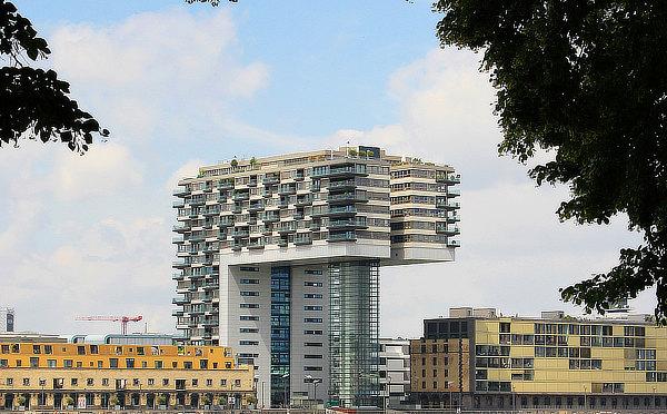 BRT Architekten, Bohte Richter Teherani, Kranhäuser, Crane Houses, Köln, Cologne, Alfons Linster