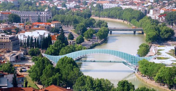 Michele De Lucchi, aMDL, The Bridge of Peace, Il Ponte della Pace, Tbilisi, Georgia, Favero & Milan
