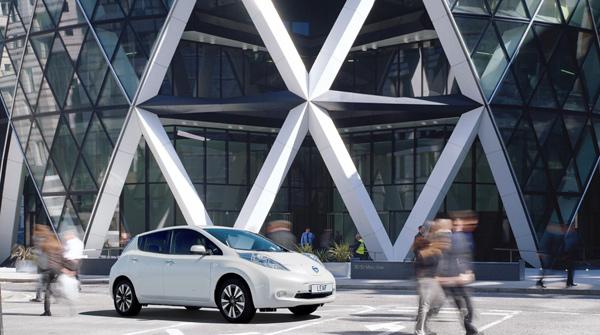 Nissan, Foster + Partners, Nissan LEAF, David Nelson