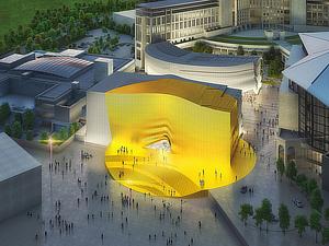 MVRDV, Gansam Architects, Paradise City, Incheon, Seoul, South Korea