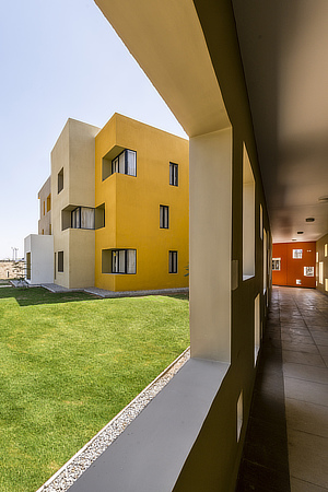 Sanjay Puri Architects, Studios 18 apartments, Ras, Rajasthan, India, Roots Design, Beawar