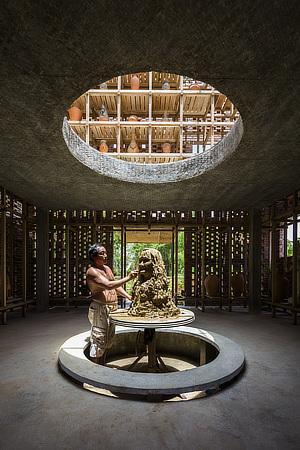 Tropical Space, Terra Cotta Studio, Le Duc Ha, Dien Phuong, Dien Ban, Quang Nam Province, Vietnam