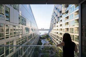 BIG, Bjarke Ingels Group, Via 57 West, New York City, Manhattan, SLCE Architects, Beat Schenk