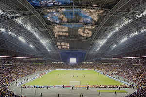 Arup Associates, Singapore National Stadium, AECOM, DP Architects
