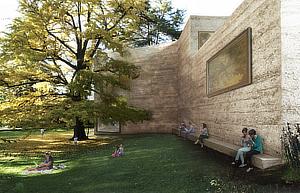 Atelier Peter Zumthor, Fondation Beyeler, Haus für Kunst, House for Art, Riehen, Basel-Stadt, Switzerland