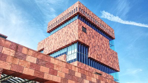 Neutelings Riedijk, MAS Museum aan de Stroom, Antwerp, Antwerpen, Belgium, B-architecten