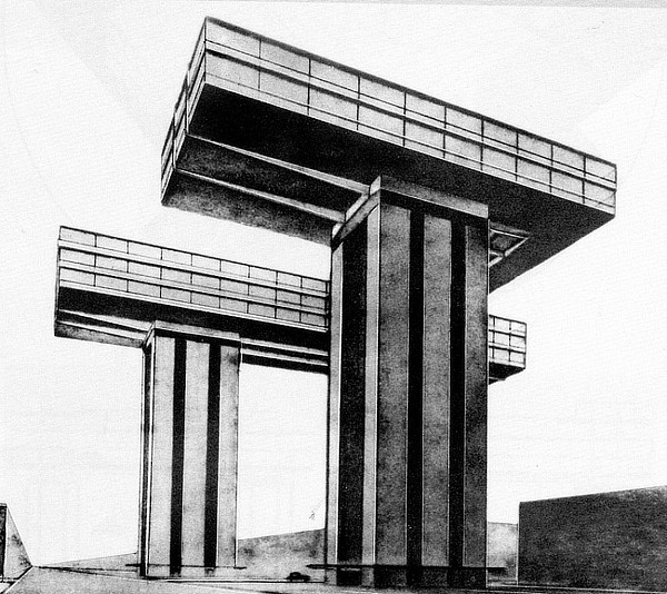 El Lissitzky, Bank of Georgia, Ministry of Highway Construction of the Georgian SSR, Tbilisi, George Chakhava, Zurab Jalaghania, Temur Tkhilava