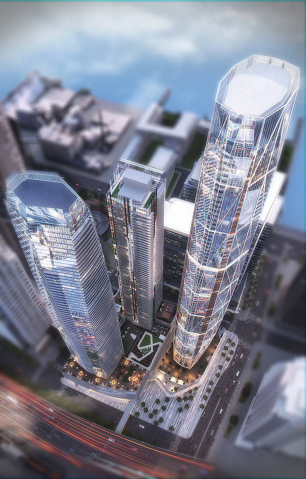 Hariri Pontarini Architects, Pinnacle One Yonge, Toronto, Ontario, Canada, David Pontarini