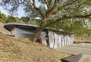Odette Estate Winery, Signum Architecture, Juancarlos Fernandez, St Helena, Napa Valley, California, Surface Design