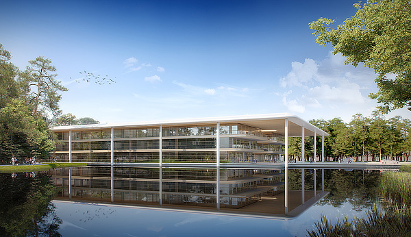 PGA TOUR Global Home, Foster + Partners, Norman Foster, Nigel Dancey, Ponte Vedra Beach, Florida