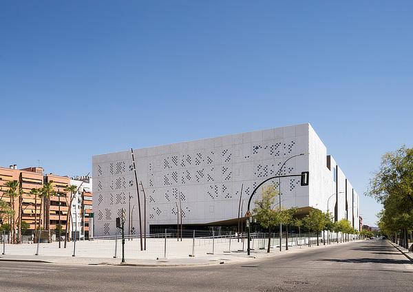 Mecanoo, Francine Houben, Ayesa, Palace of Justice in Córdoba, Cidade da Justiça de Córdoba, Spain