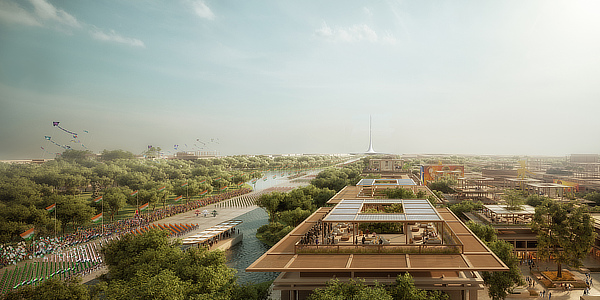 Amaravati Government Complex, Norman Foster, Foster + Partners, Andhra Pradesh, India