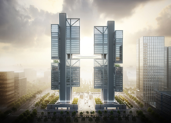 Foster + Partners, DJI Headquarters, Dajiang, Grant Brooker, Shenzhen, China