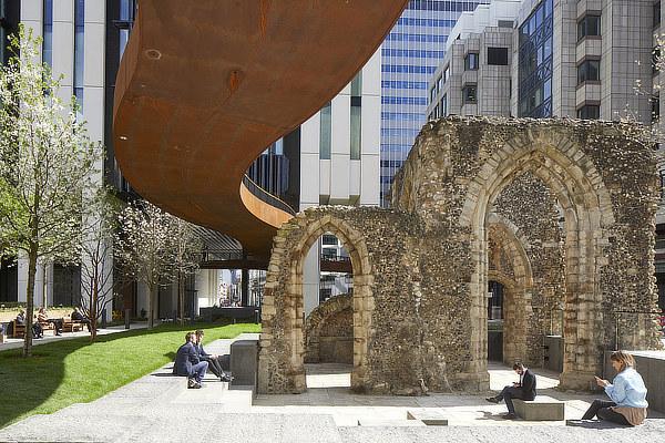 London Wall Place, Make Architects, Ken Shuttleworth, SpaceHub, WSP, HPF, United Kingdom