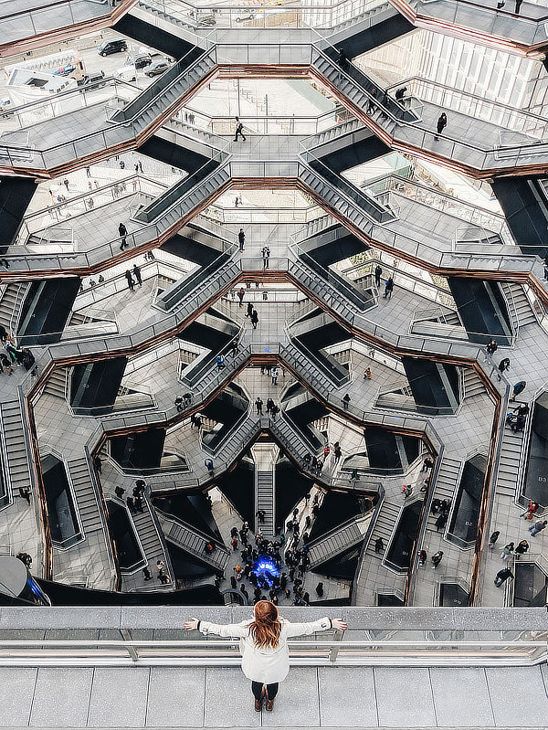 Vessel, Hudson Yards Staircase, Heatherwick Studio, Thomas Heatherwick, Manhattan, New York, AKT II