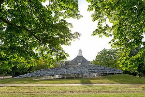 Junya Ishigami, Serpentine Gallery Pavilion 2019, London, Kensington Garden, Hyde Park