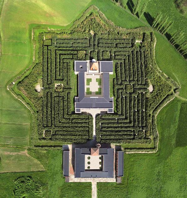 Franco Maria RiccI, Pier Carlo Bontempi, Labirinto della Masone, Labyrinth, Davide Dutto, Fontanellato, Parma