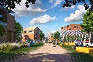 UNSense, Ben van Berkel, Brainport Smart District, 100 Homes Project, Helmond, Netherlands