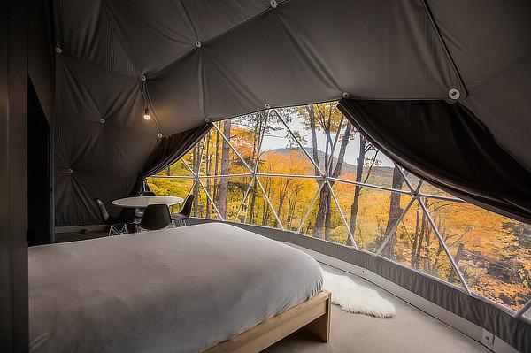 Bourgeois / Lechasseur architects, Dômes Charlevoix, Petite-Rivière-Saint-François, Québec, Canada