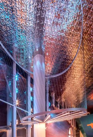 Heze Guangzhou Road No.1, Display Center Lighting Design, aoe, Larry Wen, Beijing Puri Lighting Design, Fang Hu, China