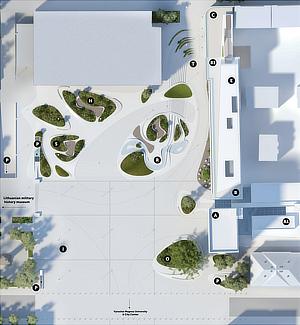 3deluxe, V-Plaza, Kaunas, Lithuania, Lietuva, Giedraitis & architektai