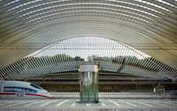 Santiago Calatrava Liege-Guillemins TGV Railway Station