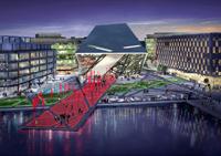 Daniel Libeskind Grand Canal Square Theatre Dublin