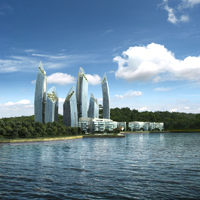 Daniel Libeskind Reflections at Keppel Bay Singapore