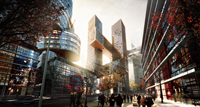 BIG Bjarke Ingels Cross Towers Yongsan Seoul Korea