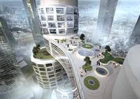 Asymptote Velo Towers Yongsa Seoul Korea