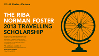 2013 RIBA Norman Foster Travelling Scholarship