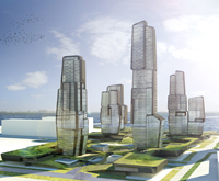 UNStudio Ben van Berkel Yongjia World Trade Centre Wenzhou