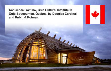 Rubin & Rotman Aanischaaukamikw Cree Cultural Institute Quebec Canada