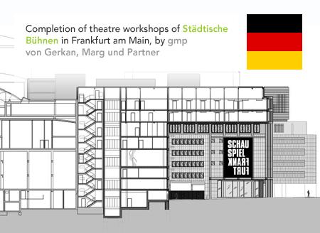 gmp von Gerkan Marg und Partner Städtische Bühnen Frankfurt am Main