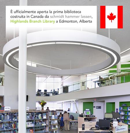 schmidt hammer lassen architects Highlands Branch Library Edmonton Alberta Canada