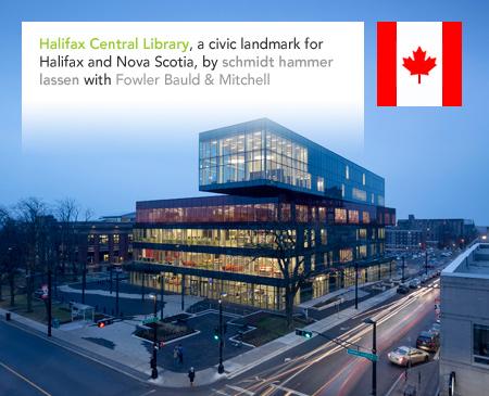 schmidt hammer lassen Halifax Central Library Nova Scotia Canada