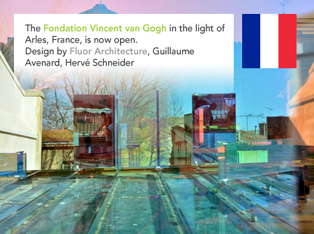 Fondation Vincent van Gogh Foundation Arles Fluor Architecture