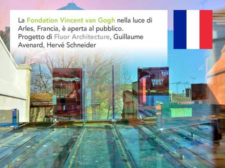 Fondation Vincent van Gogh Foundation ArlesFluor Architecture