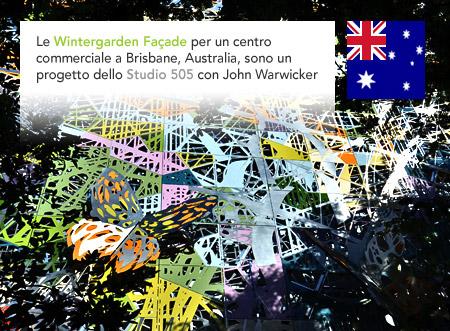 Studio 505 Wintergarden Facade Brisbane