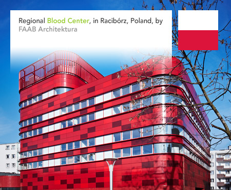 FAAB Architektura Raciborz Regional Blood Center Poland