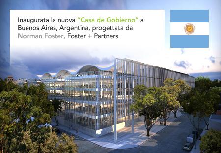 Norman Foster + Partners Buenos Aires City Hall Casa de Gobierno Argentina