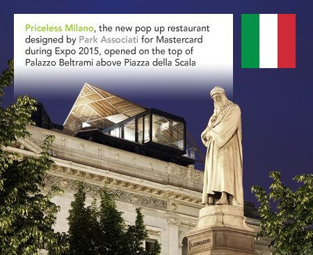 Park Associati, Priceless Milano, Mastercard, Expo 2015
