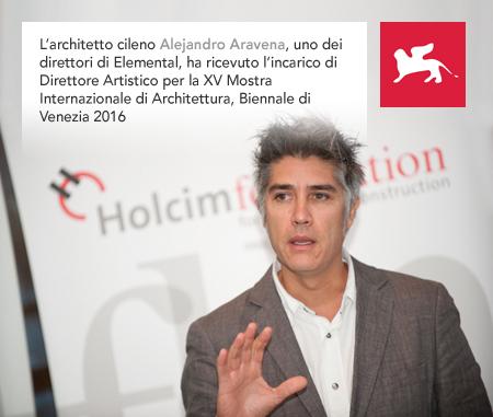 Alejandro Aravena, Elemental, Biennale Venezia 2016, Artistic Director