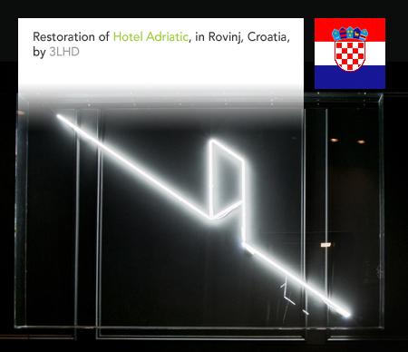 Studio 3LHD, Hotel Adriatic, Rovinj, Croatia